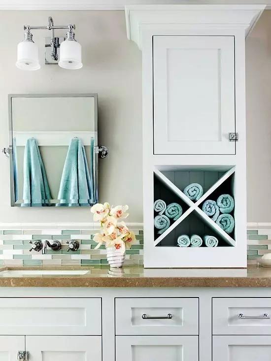 装修大讲堂:美轮美奂的浴室收纳柜如何选