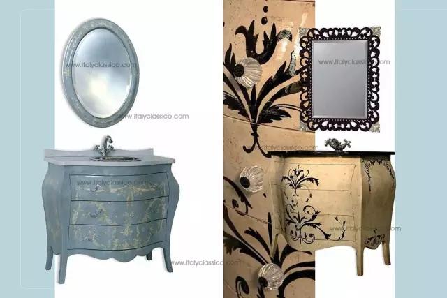 看了这些意大利奢华品牌的浴室柜,真想把家里的给换了!