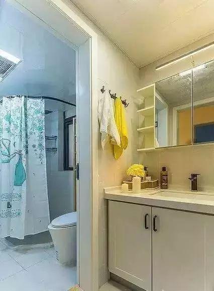 卫浴间太小做不了干湿分离?那是因为你没看到这些